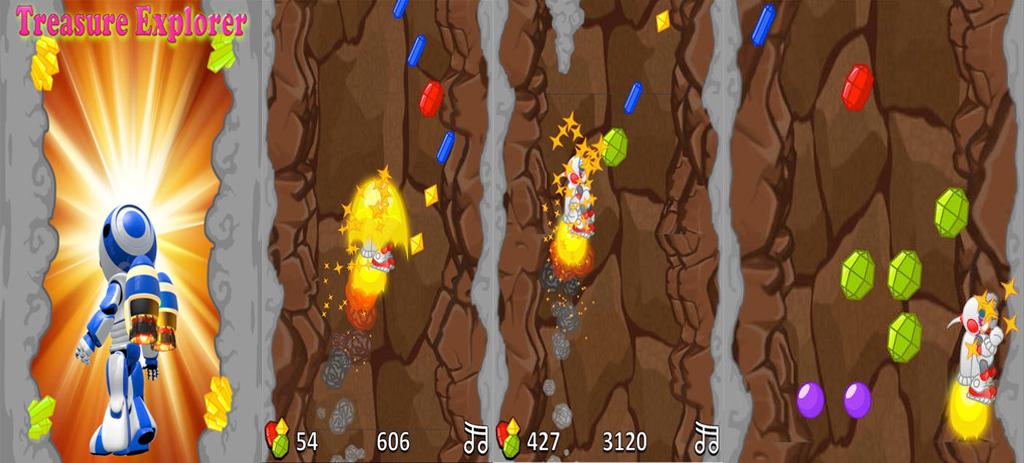 Treasure Explorer -Endless Jetpack game