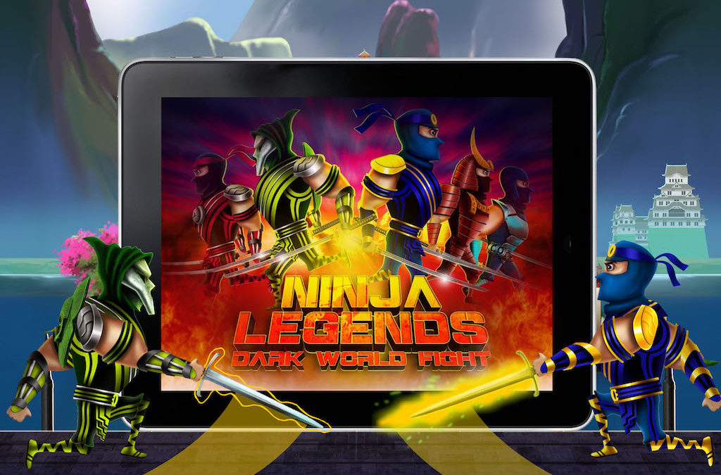 Ninja Legends HD – Dark World Fight