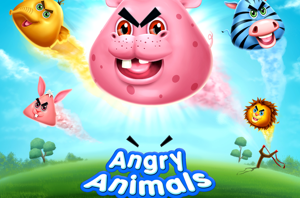 Angry Animals – SlingShot Game