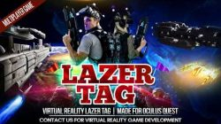 Virtual Reality Lazer Tag